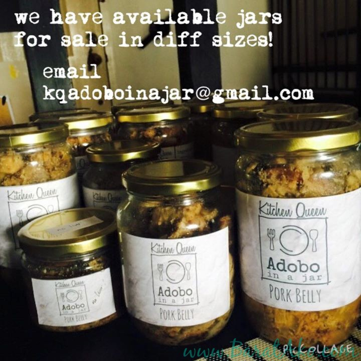 Chef Liza Dino Seguerra Adobo in a Jar for sale Pork Belly