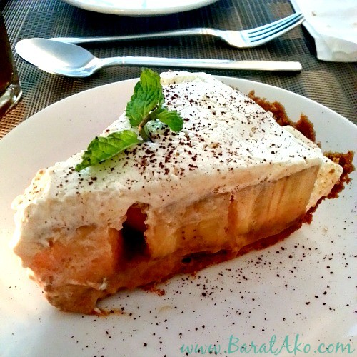 Corner Tree Cafe Banoffee Pie