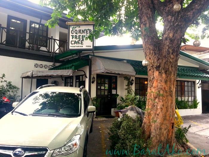 Corner Tree Cafe Outside