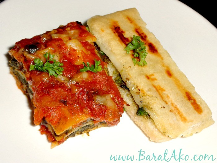 Corner Tree Cafe Spinach Mushroom Lasagna Roasted Asparagus Gruyere Panini