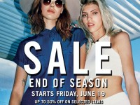 Forever21 End of Season Sale June 2015
