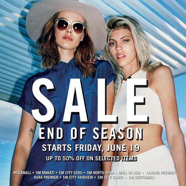 Forever21 End of Season Sale June 2015