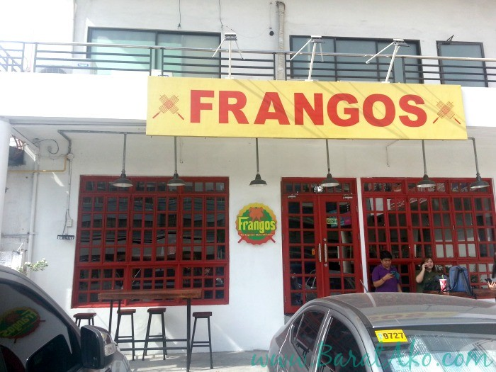 Frangos Portuguese Chicken Front