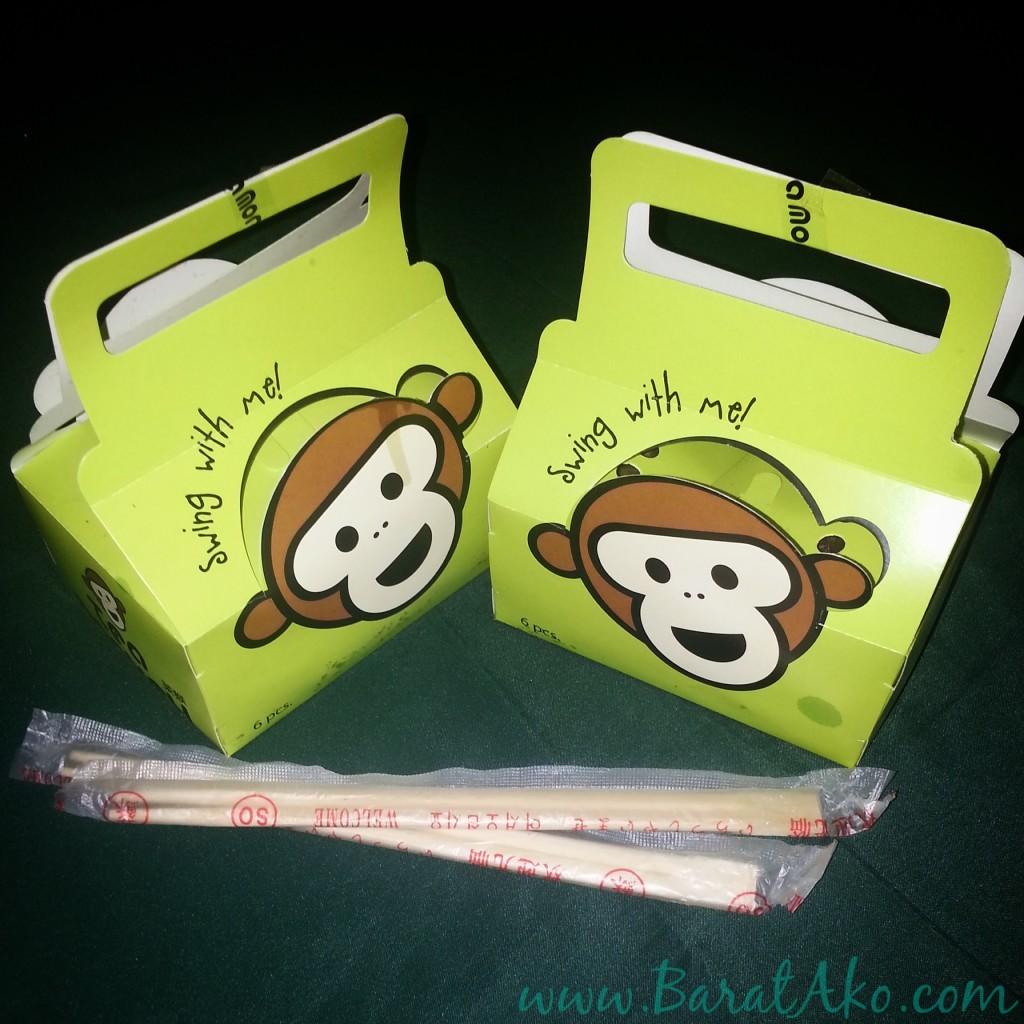 Tea Monkey Tamayaki Take Out Box