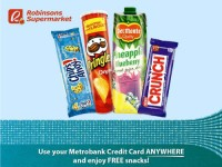 Metrobank Credit Card Robinsons Supermarket Promo P3000
