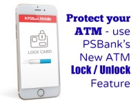 PSBank ATM Lock Unlock Feature
