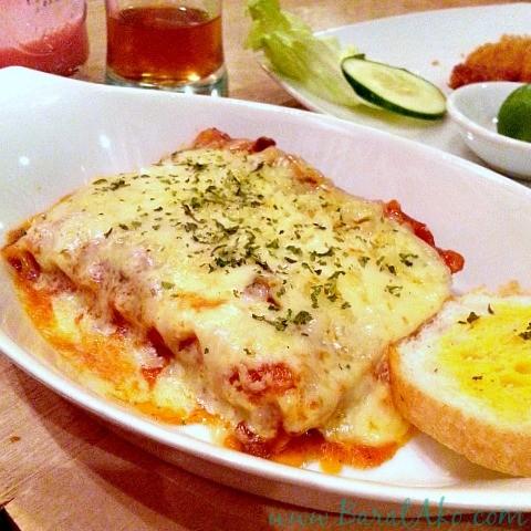 Pins and Bricks Lasagna