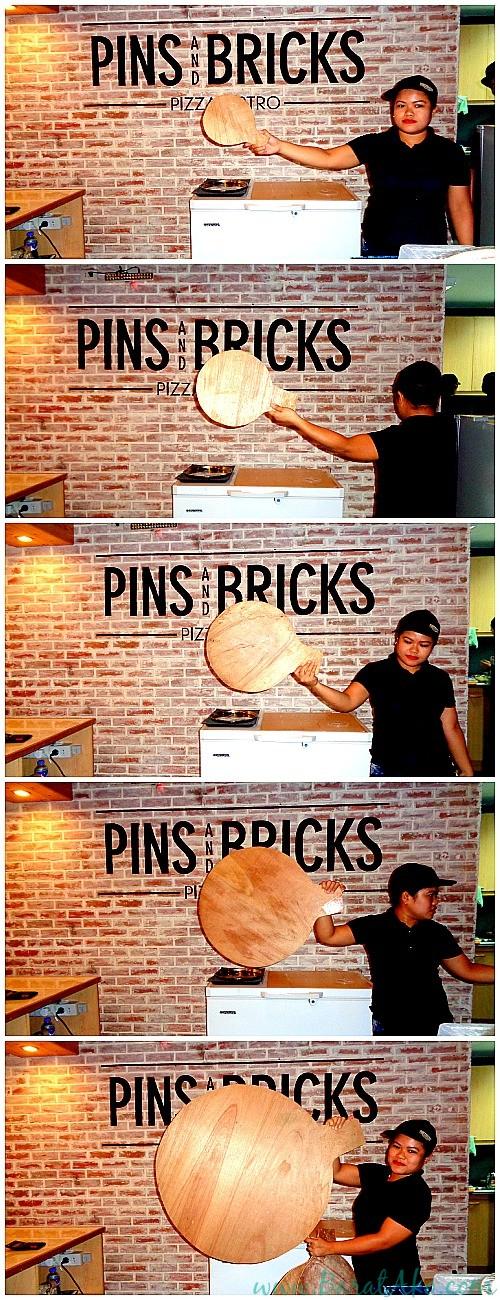 Pins and Bricks Pizza Sizes