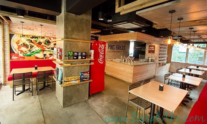 Pins and Bricks Restaurant
