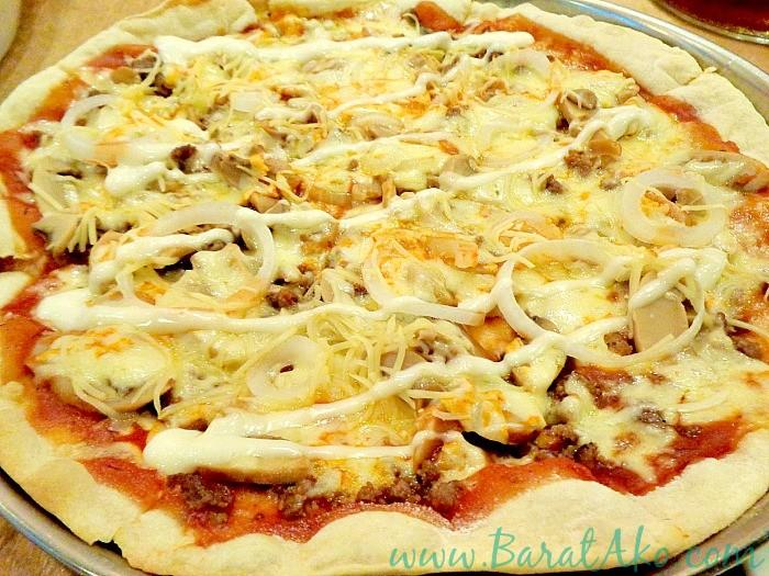 Pins and Bricks Shawarma Pizza