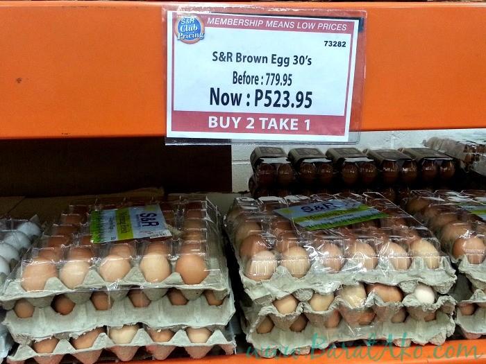 SnR June 3 Brown Eggs Buy 2 Take 1