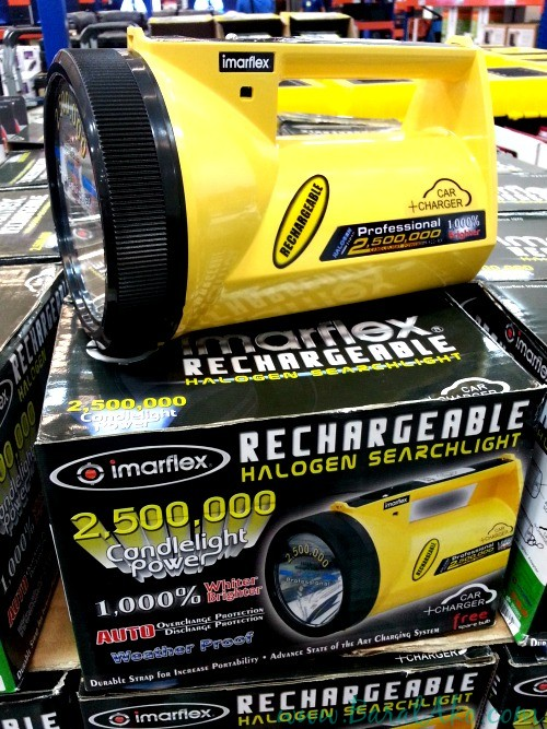 SnR June 3 Rechargeable Searchlight