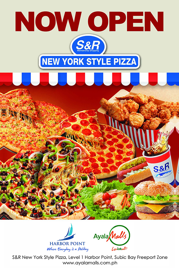 SnR New York Style Pizza Harbor Point Subic