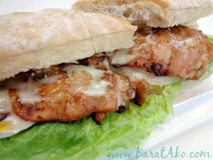 Tea Monkey Chicken Thigh Fillet Sandwich Honey