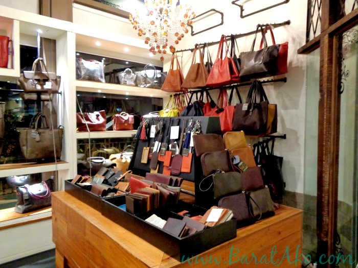 The Tannery Manila Bags on Display