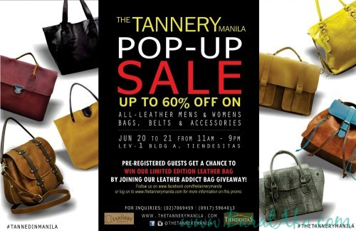 The Tannery Pop Up Sale