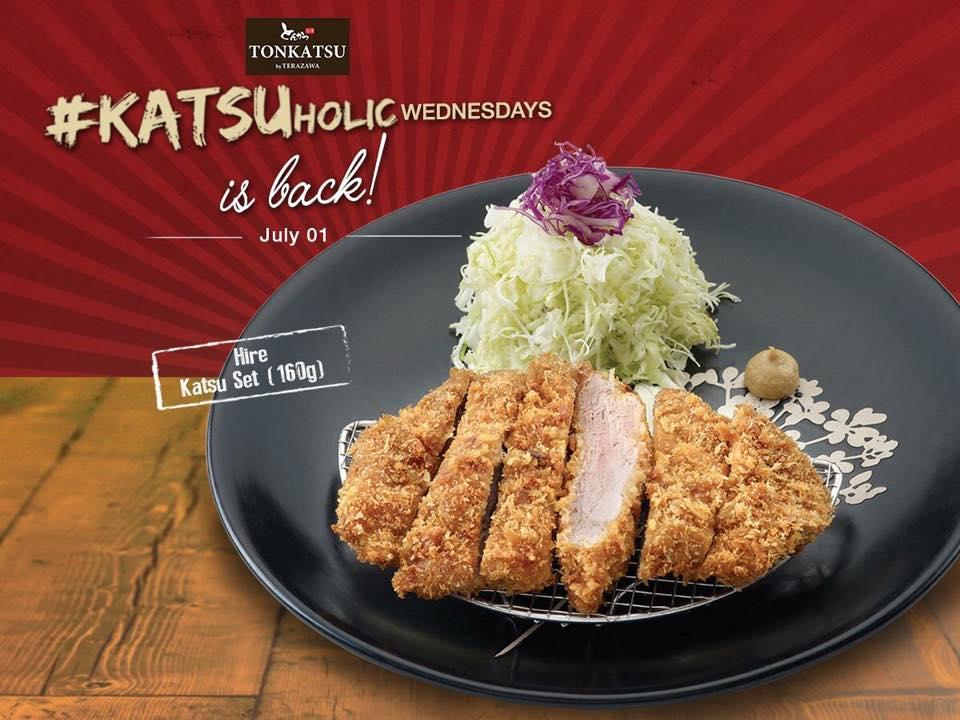 Tonkatsu by Terazawa July 1 Half Price Hire Set