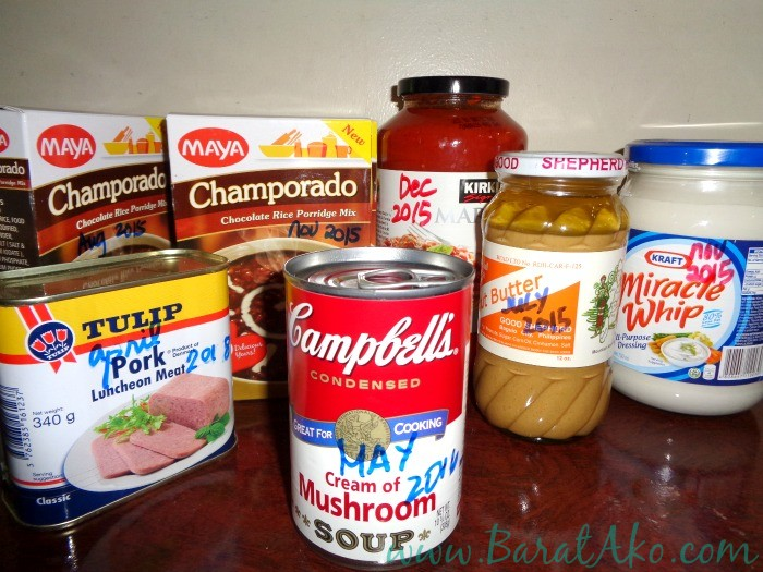 Useful Tip Label Your Pantry Items with a Marker
