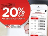 20% OFF Air Asia ALL SEATS ALL FLIGHTS
