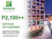 Holiday Inn Galleria Staycation promo