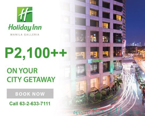 Holiday Inn Galleria Staycation promo