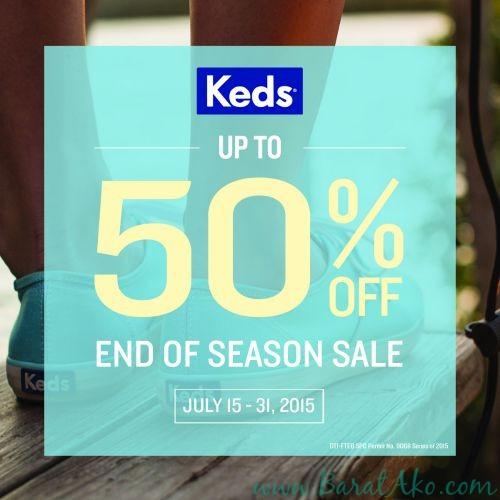 Keds End Of Season Sale artwork