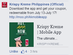 Krispy Kreme 78th Anniversary 6 Donuts Promo App Voucher Valid Until July 17