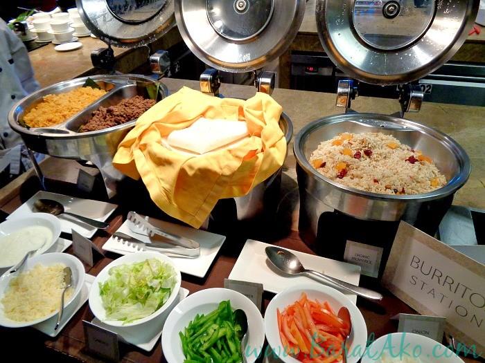 Manila Hotel Cafe Ilang Ilang Buffet Burrito Station