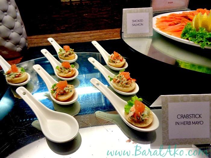 Manila Hotel Cafe Ilang Ilang Buffet Crabstick in Herb Mayo