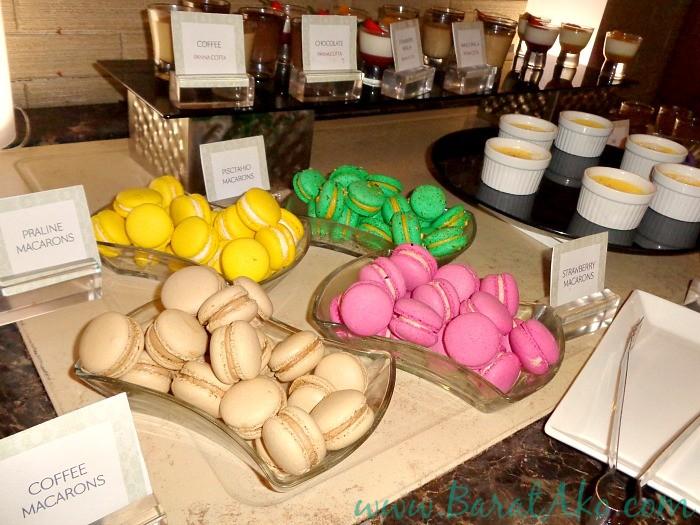 Manila Hotel Cafe Ilang Ilang Buffet Dessert Macaron