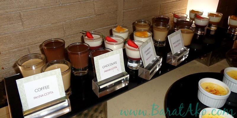 Manila Hotel Cafe Ilang Ilang Buffet Dessert Panna Cotta