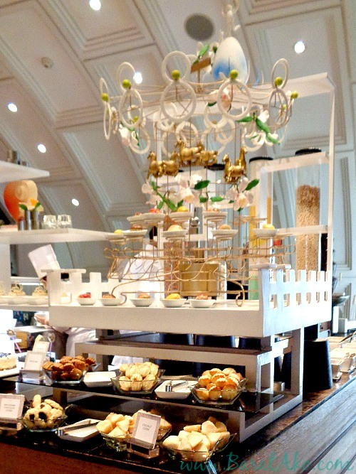 Manila Hotel Cafe Ilang Ilang Buffet Dessert Tower