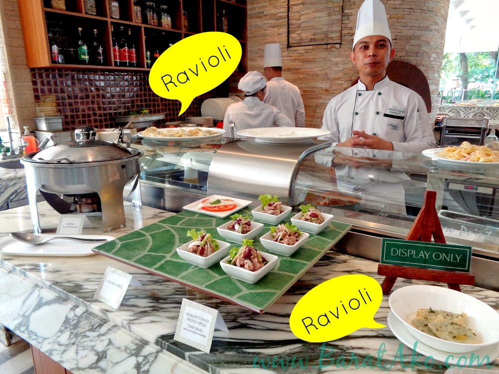 Manila Hotel Cafe Ilang Ilang Buffet Italian Station Pasta Ravioli