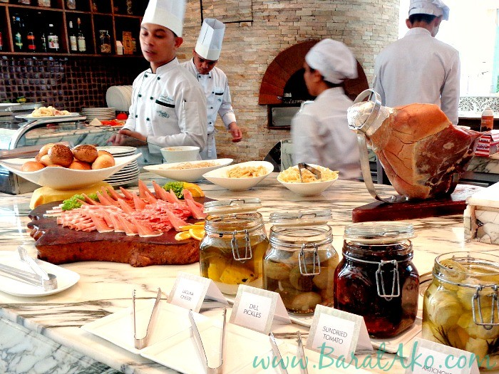 Manila Hotel Cafe Ilang Ilang Buffet Italian Station Pasta Antipasto