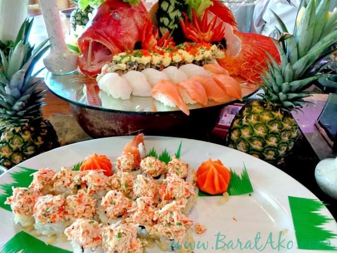 Manila Hotel Cafe Ilang Ilang Buffet Japanese Station Sushi