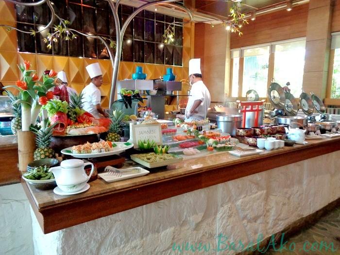 Manila Hotel Cafe Ilang Ilang Buffet Japanese Station