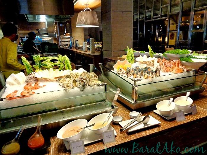 Manila Hotel Cafe Ilang Ilang Buffet Seafood Section