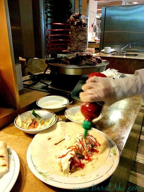 Manila Hotel Cafe Ilang Ilang Buffet Shawarma Station