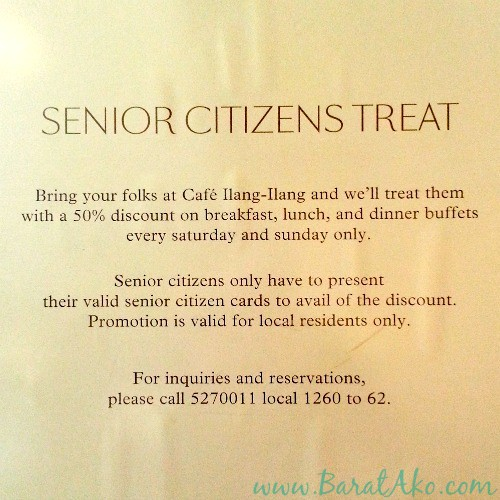 Manila Hotel Senior Citizen Discount