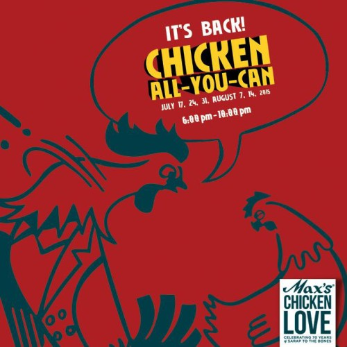 Max Chicken All You Can Promo
