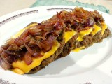 Easy Quick N' Eat Angus Beef with Cheese and Onion Confit Recipe