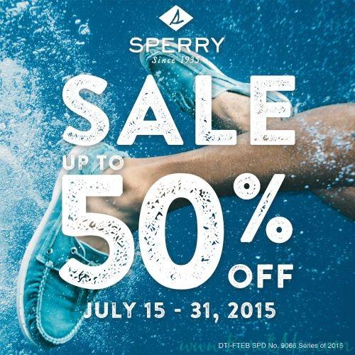 Sperry End Of Season Sale artwork