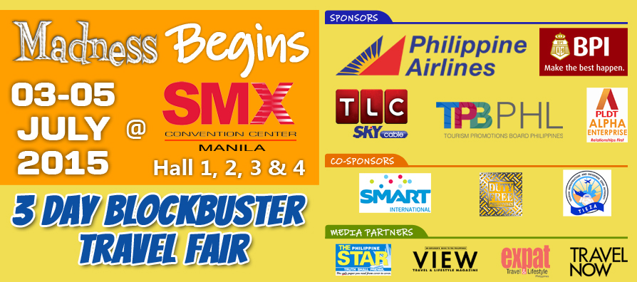 Travel Madness 2015 July 3 to 5 2015 SMX