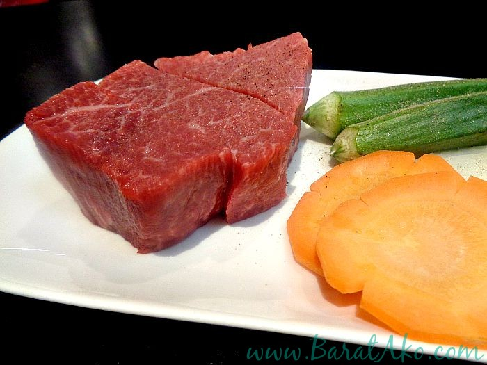 Wagyu Japanese Beef Omi Chateaubriand Raw