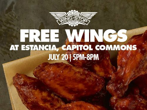 Wingstop Free Wings Estancia Mall Capitol Commons Featured Image