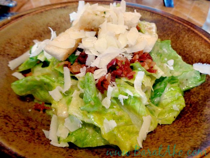 Cowrie Grill Greenhills Ceasar Salad