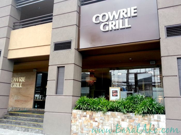 Cowrie Grill Greenhills Outside