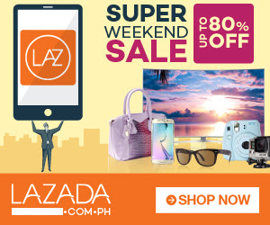 Lazada Super Weekend Sale Aug 28 to 31 2015