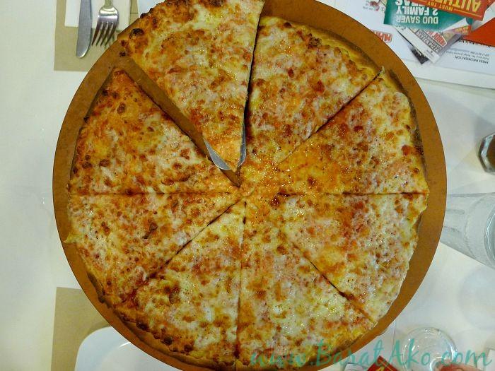 Papa Johns Simply Cheese Thin Crust Pizza