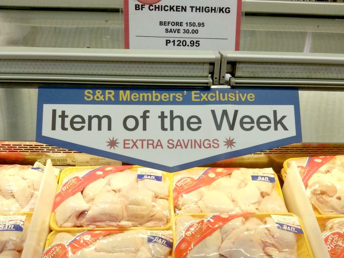 SnR Aug 28 Chicken Thigh Promo